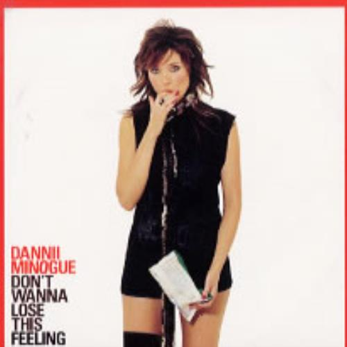Dannii Minogue Don't Wanna Lose This Feeling - 2 track CD-R acetate UK DANCRDO247133