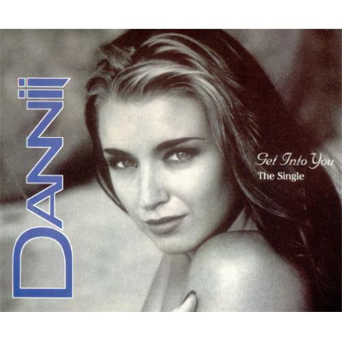 "Dannii Minogue Get Into You CD single (CD5 / 5"") UK DANC5GE60822"