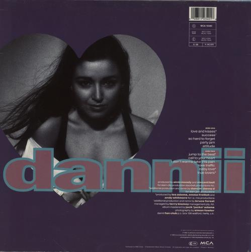 Dannii Minogue Love & Kisses vinyl LP album (LP record) UK DANLPLO754010