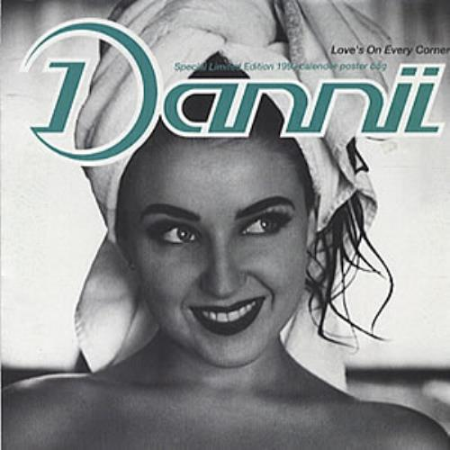 "Dannii Minogue Loves On Every Corner 7"" vinyl single (7 inch record) UK DAN07LO11676"