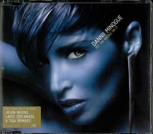 "Dannii Minogue Put The Needle On It CD single (CD5 / 5"") UK DANC5PU251807"