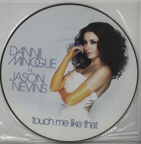 "Dannii Minogue Touch Me Like That 12"" vinyl picture disc 12inch picture disc record UK DAN2PTO421386"