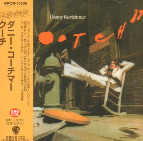Danny Kortchmar Kootch CD album (CDLP) Japanese KOTCDKO673896