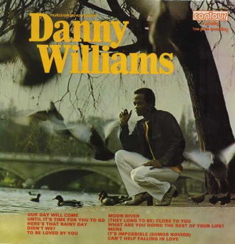 Danny Williams Danny Williams vinyl LP album (LP record) UK DW-LPDA411989