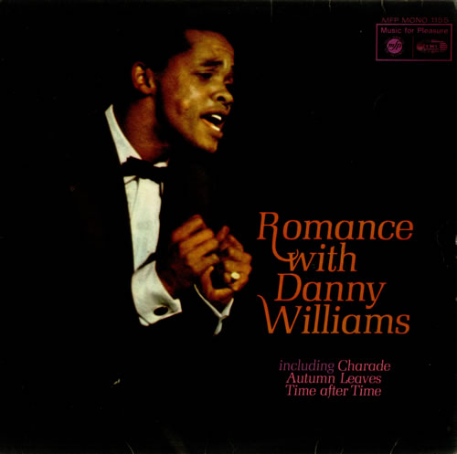 Danny Williams Romance With Danny Williams vinyl LP album (LP record) UK DW-LPRO455023