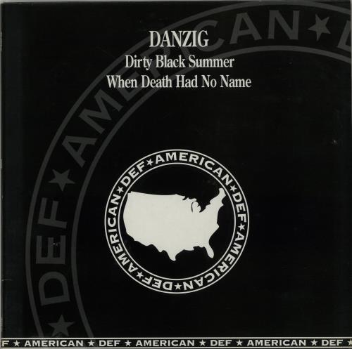 "Danzig Dirty Black Summer 12"" vinyl single (12 inch record / Maxi-single) UK ZIG12DI60858"