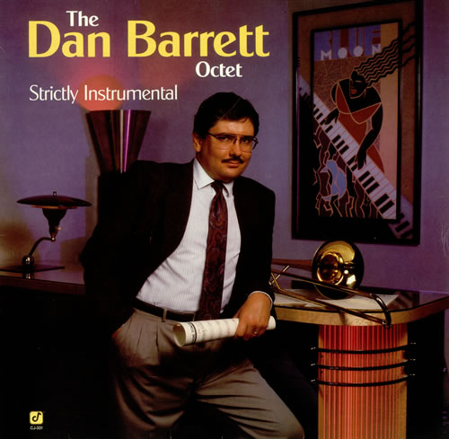Dan Barrett Strictly Instrumental vinyl LP album (LP record) German D1BLPST494524