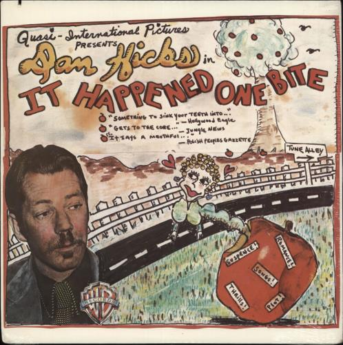 Dan Hicks It Happened One Bite - Sealed vinyl LP album (LP record) US DKZLPIT708126