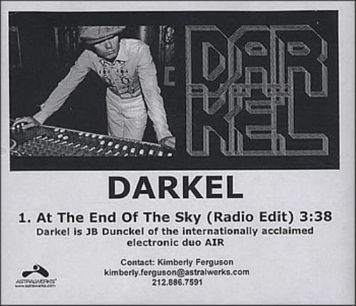 Darkel At The End Of The Sky CD-R acetate US IH6CRAT379470