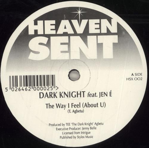 "Dark Knights The Way I Feel 12"" vinyl single (12 inch record / Maxi-single) UK 08R12TH742094"