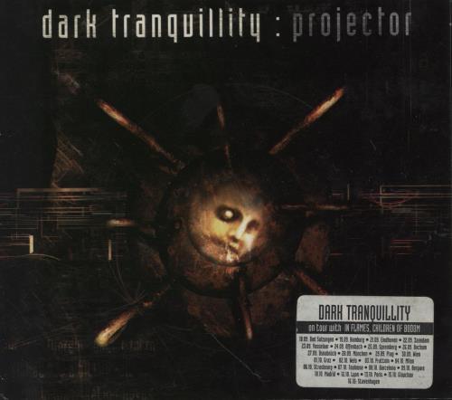 Dark Tranquillity Projector CD album (CDLP) German Q1YCDPR753175