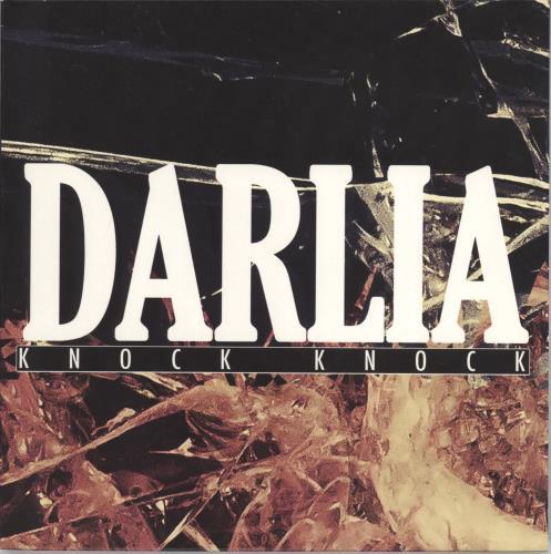 """Darlia Knock Knock 7"""" vinyl single (7 inch record) UK H5707KN767153"""