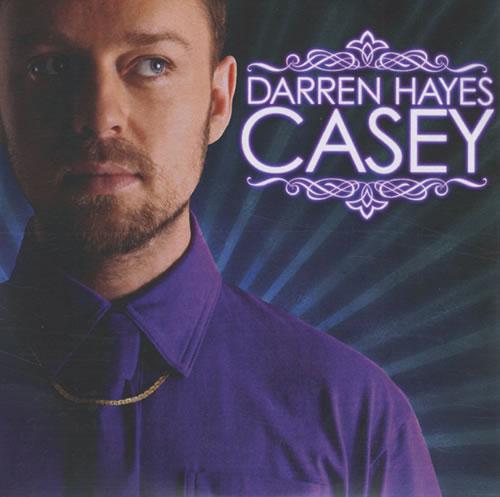 Darren Hayes Casey CD-R acetate UK DHYCRCA431309