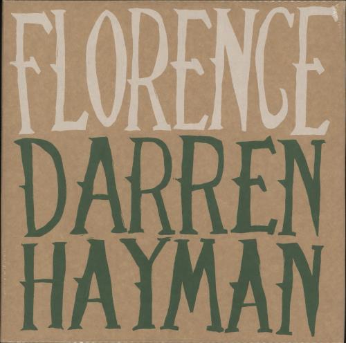 Darren Hayman Florence - Sealed vinyl LP album (LP record) UK DHELPFL702698