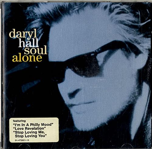 Daryl Hall Soul Alone CD album (CDLP) UK DRLCDSO611606