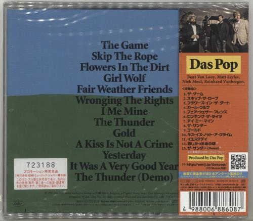 Das Pop The Game + Obi - Sealed CD album (CDLP) Japanese DQVCDTH691283