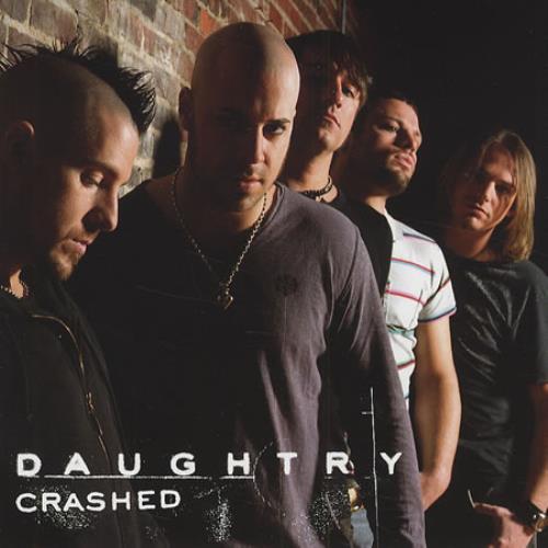 "Daughtry Crashed CD single (CD5 / 5"") US DG4C5CR414627"