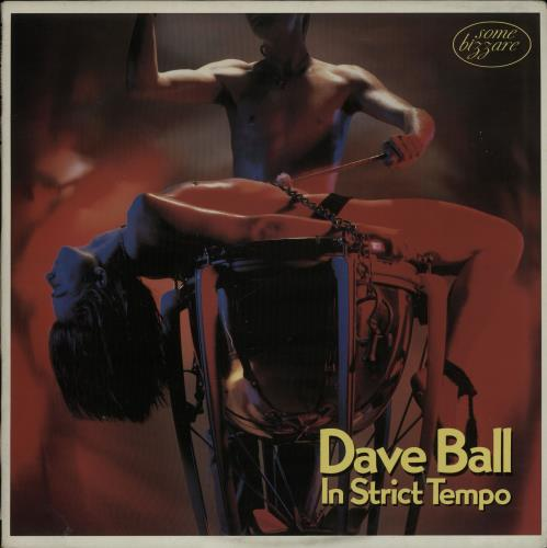 Dave Ball In Strict Tempo - Gold Promo Stamped Sleeve vinyl LP album (LP record) UK DVLLPIN651697