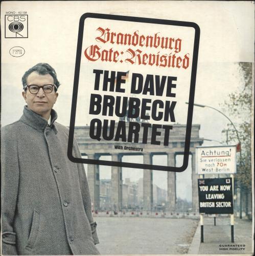 Dave Brubeck Brandenburg Gate: Revisited vinyl LP album (LP record) Italian DBRLPBR748856
