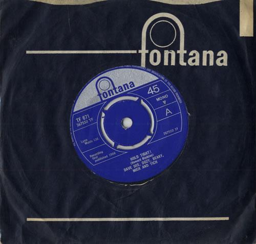 "Dave Dee, Dozy, Beaky, Mick & Tich Hold Tight! - 4pr 7"" vinyl single (7 inch record) UK DDD07HO557011"