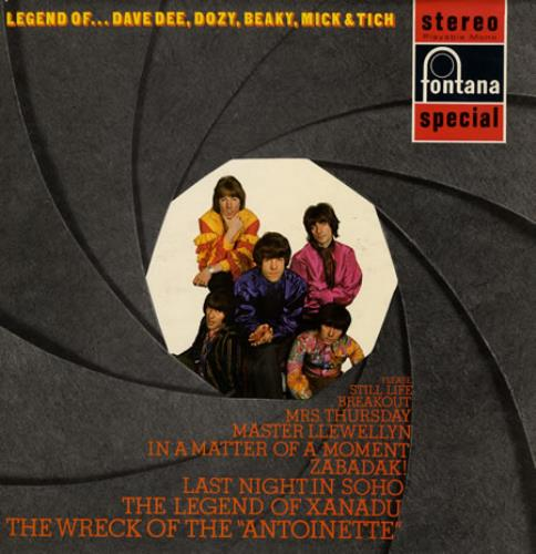 Dave Dee, Dozy, Beaky, Mick & Tich The Legend Of... vinyl LP album (LP record) UK DDDLPTH144807