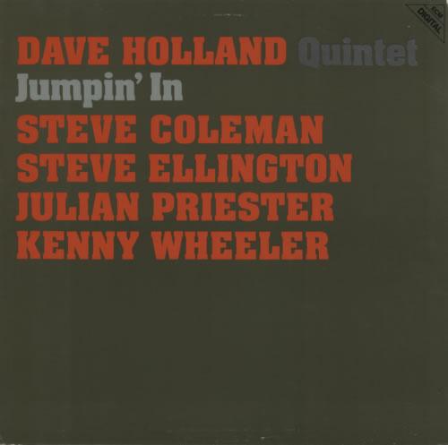 Dave Holland Jumpin' In vinyl LP album (LP record) German E56LPJU593143