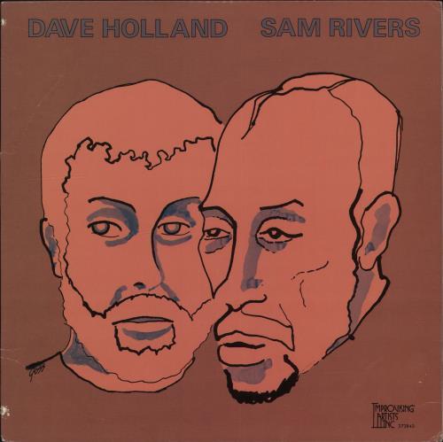 Dave Holland Sam Rivers/ Dave Holland Volumes 1 & 2 2-LP vinyl record set (Double Album) US E562LSA704890