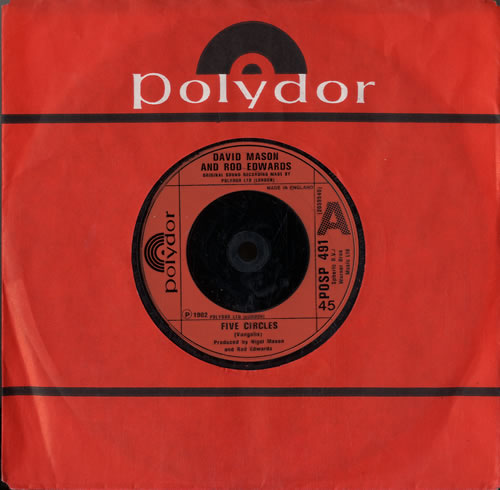 "Dave Mason Five Circles 7"" vinyl single (7 inch record) UK DMS07FI598327"