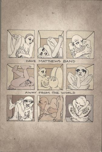 Dave Matthews Band Away From The World (Super Deluxe Edition) 2-disc CD/DVD set US DMB2DAW767132