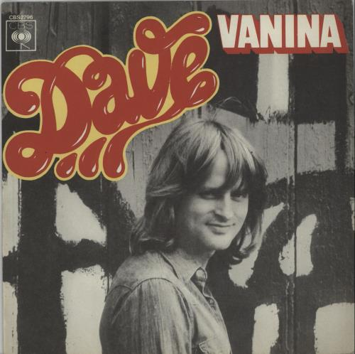 "Dave Vanina 7"" vinyl single (7 inch record) French IK207VA656809"
