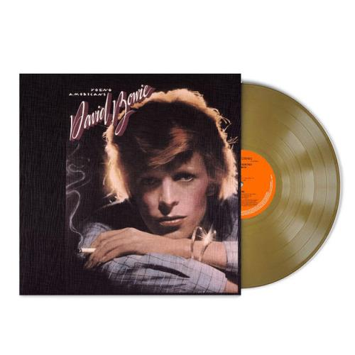 David Bowie Young Americans - Gold Vinyl - 45th Anniversary Edition vinyl LP album (LP record) UK BOWLPYO752704