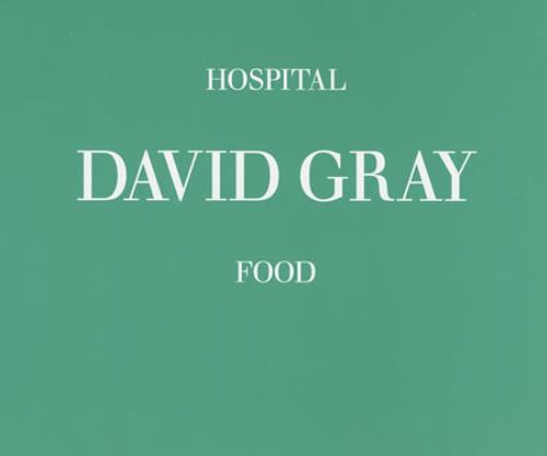 "David Gray Hospital Food CD single (CD5 / 5"") UK DGRC5HO398005"