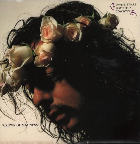 "David A. Stewart Crown Of Madness 7"" vinyl single (7 inch record) UK STE07CR664394"