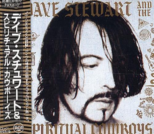 David A. Stewart Dave Stewart And The Spiritual Cowboys CD album (CDLP) Japanese STECDDA173355