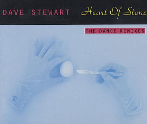 "David A. Stewart Heart Of Stone The Dance Mixes CD single (CD5 / 5"") German STEC5HE36595"