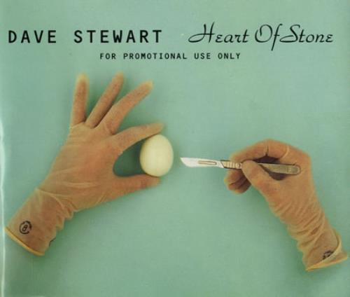 "David A. Stewart Heart Of Stone CD single (CD5 / 5"") UK STEC5HE32531"