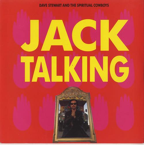 "David A. Stewart Jack Talking 7"" vinyl single (7 inch record) UK STE07JA447644"