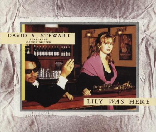 "David A. Stewart Lily Was Here - Candy & Dave Sleeve CD single (CD5 / 5"") UK STEC5LI18212"