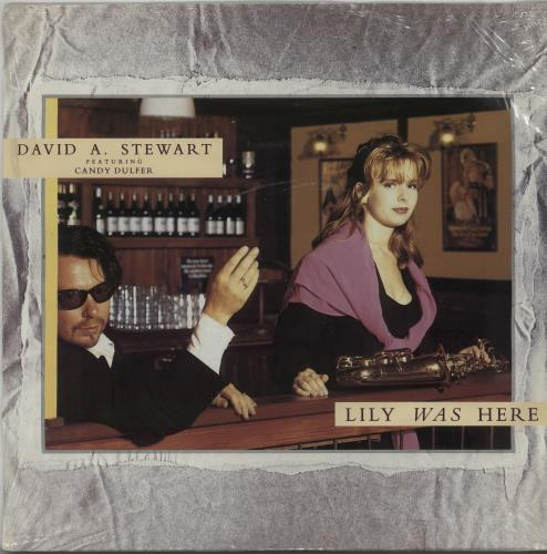 "David A. Stewart Lily Was Here 12"" vinyl single (12 inch record / Maxi-single) UK STE12LI52199"