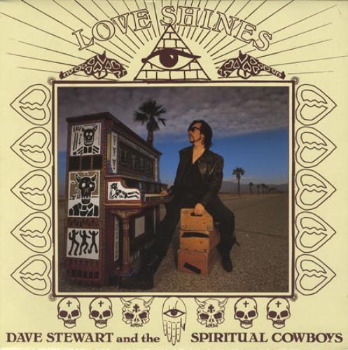"David A. Stewart Love Shines 10"" vinyl single (10"" record) UK STE10LO13603"