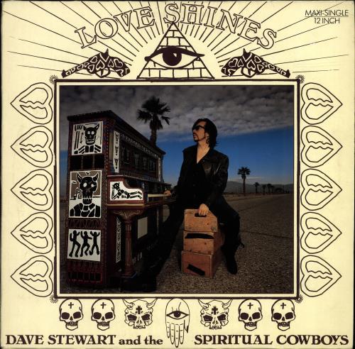 "David A. Stewart Love Shines 12"" vinyl single (12 inch record / Maxi-single) UK STE12LO161527"