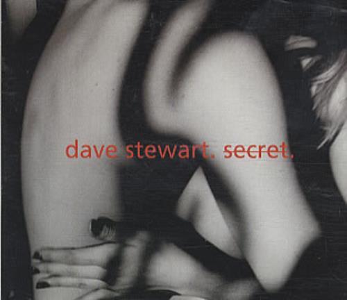 """David A. Stewart Secret CD single (CD5 / 5"""") European STEC5SE160705"""