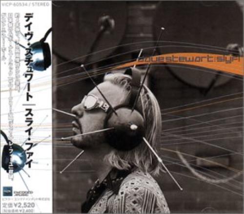 David A. Stewart Slyfi - Sealed CD album (CDLP) Japanese STECDSL322519