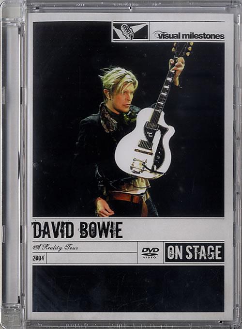 David Bowie A Reality Tour [Visual Milestones Series] - Sealed DVD UK BOWDDAR431384
