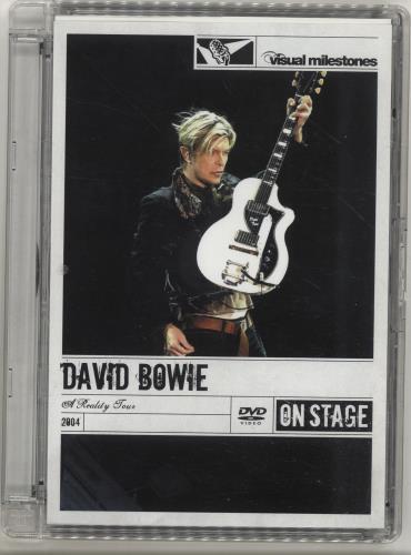 David Bowie A Reality Tour [Visual Milestones Series] UK DVD