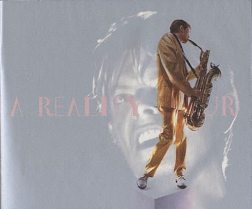 David Bowie A Reality Tour tour programme UK BOWTRAR370278
