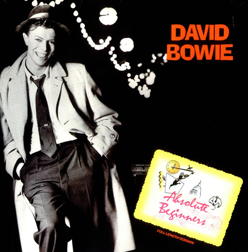 """David Bowie Absolute Beginners + Insert 12"""" vinyl single (12 inch record / Maxi-single) UK BOW12AB37975"""