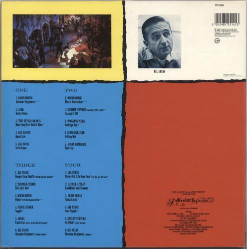 David Bowie Absolute Beginners - Gatefold P/S 2-LP vinyl record set (Double Album) UK BOW2LAB695096