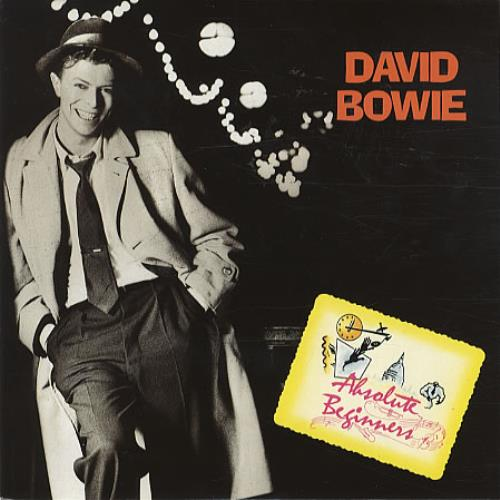 """David Bowie Absolute Beginners - with Insert 7"""" vinyl single (7 inch record) UK BOW07AB98272"""