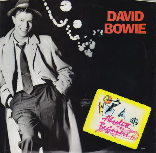 """David Bowie Absolute Beginners 7"""" vinyl single (7 inch record) US BOW07AB650498"""